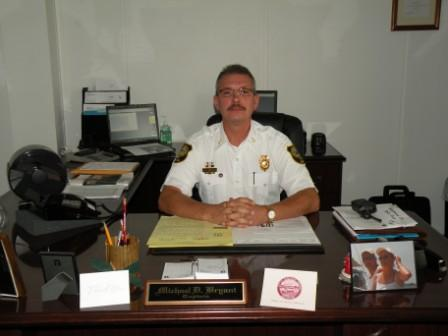 Deputy Fire Chief Michael Bryant